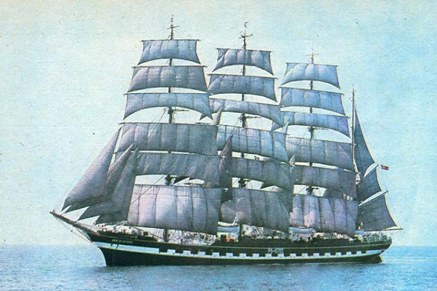 Русский 40-пушечный трехмачтовый винтовой фрегатРоссийского императорского флота. Совершил три кругосветных путешествия и около 20 дальних походов