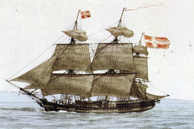 Испанский пинк XVIII в.