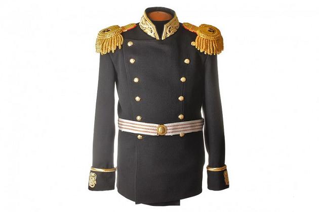 Морской мундир Гвардейского экипажа периода 1855-1917 года, Россия, копия