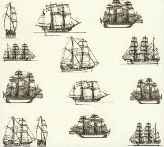 Огромное разнообразие парусных кораблей и судов классической парусной эпохи поражало воображение как их современников, так и нынешних исследователей