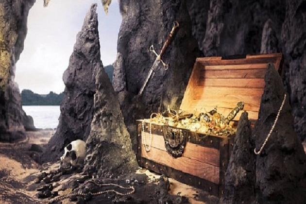Золото 11 испанских галеонов