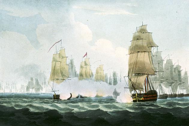 Сражение 15 февраля 1804 г.