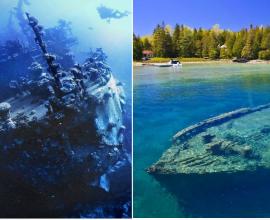 Топ 10 затонувших кораблей, ставших местами паломничества дайверов