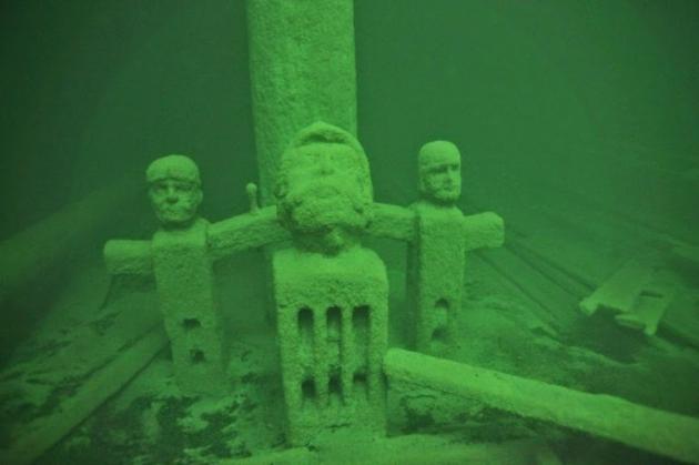 Затонувший Корабль-призрак