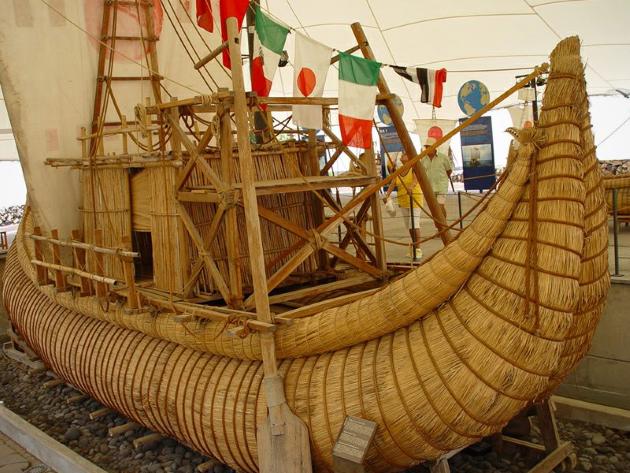 Папирусная лодка
