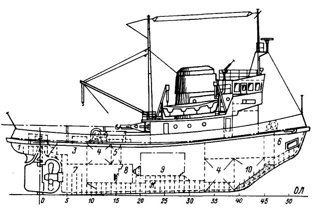 Морской буксир-ледокол