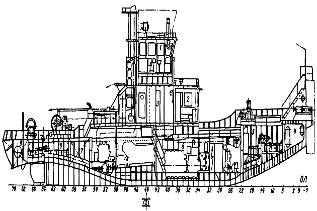 Рейдовый ледокол-буксир-толкач-спасатель