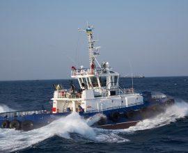 Управляемость буксирного судна, устойчивость на курсе