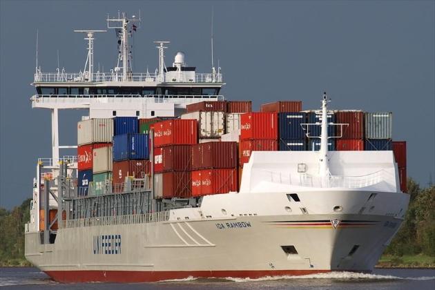 Сварка чугуна - контейнеровоз IDA Rambow