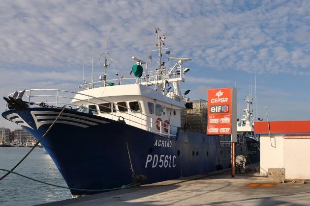 Промысловое судно Agriao