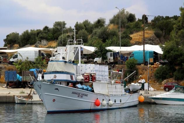 Обработка деталей, судно Athanasios Kampanis