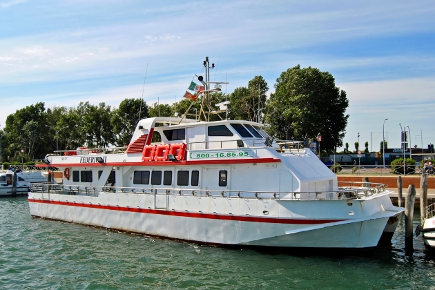 Промысловое судно Federica-II
