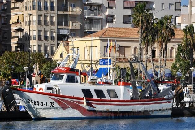 Промысловое судно Gaspar Y Rafaela