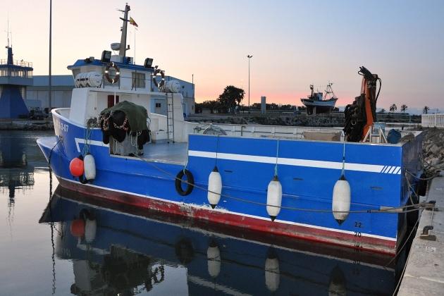 Промысловое судно Guardamar Uno