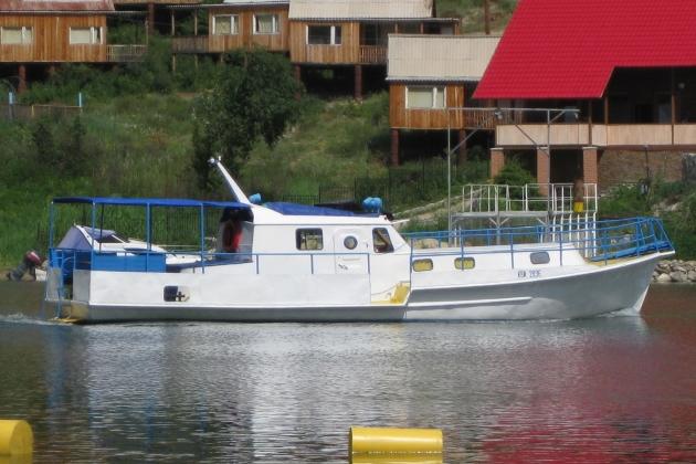 Промысловое судно КВК-2836
