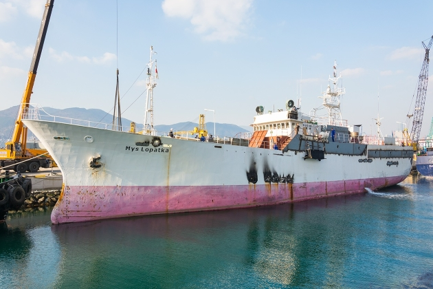 Промысловое судно Mys Lopatka