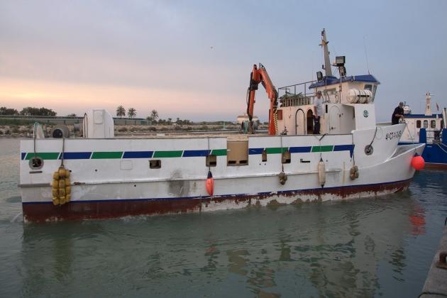 Промысловое судно Nature Uno
