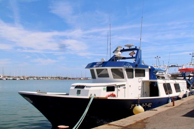 Промысловое судно Silvia Primera