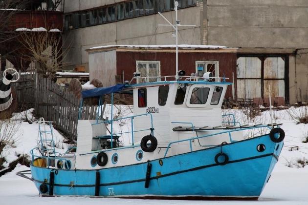Промысловое судно Р 30-22 ИД
