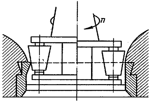 Разборка механизмов - вальцовка соединений