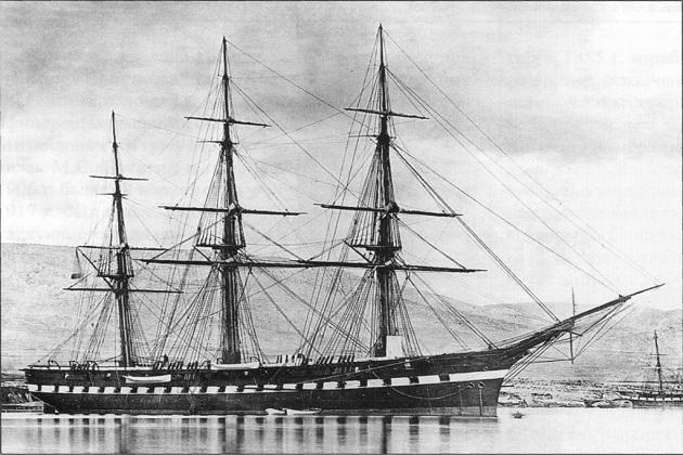 Парусно-винтовой корабль
