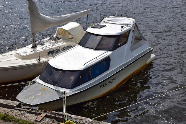 Маломерное судно Р 59-01 ЛХ