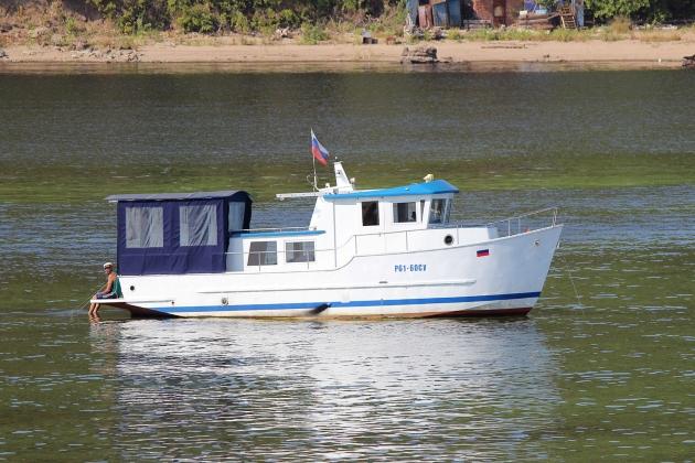 Моторная яхта Р 61-60 СУ