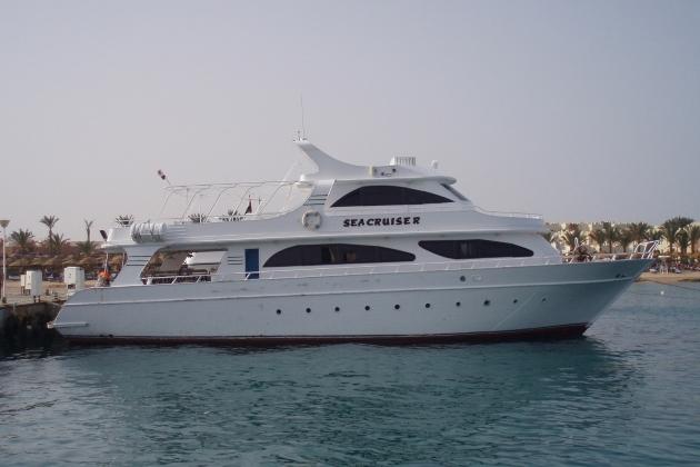 Ремонт корпуса моторной яхты Sea cruiser