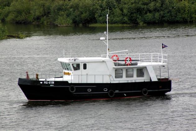 Ремонт корпуса моторной яхты Tortuga