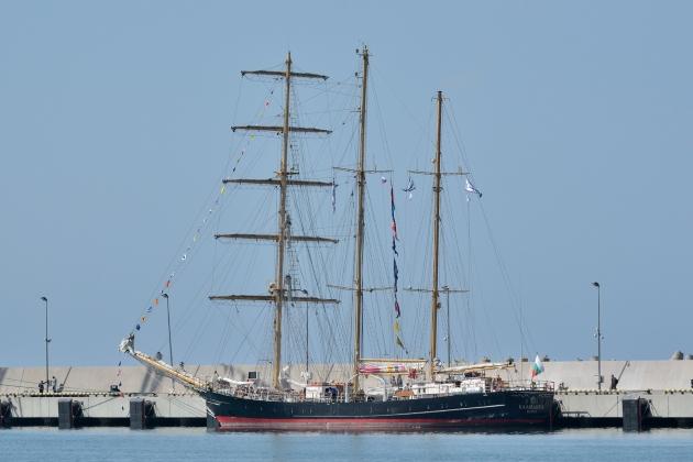 Ремонт арматуры - парусное судно Калиакра
