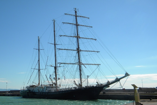 Ремонт арматуры - парусное судно Signora del Vento