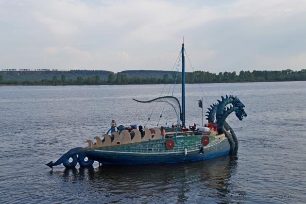 Парусное судно Змей Горыныч