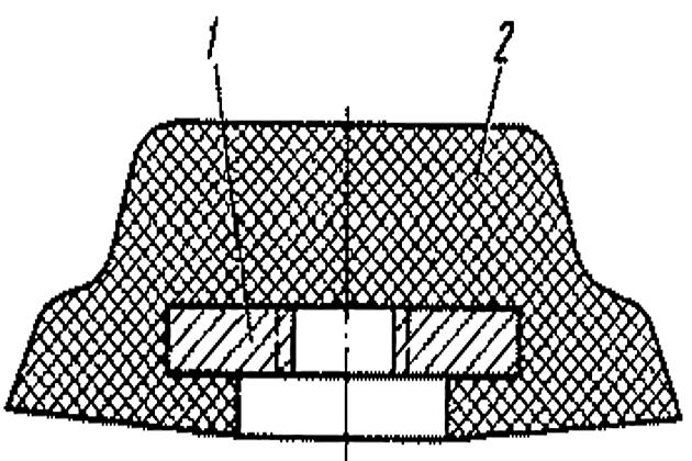 Резино-металлическая планка