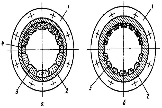 Схема набора планок