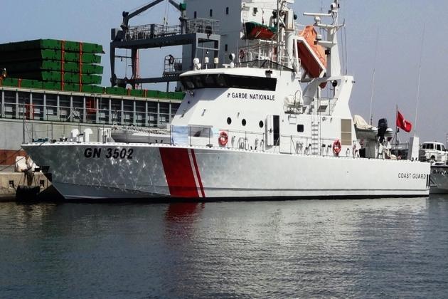 Виды ремонта судна - сторожевой катер GN 3502