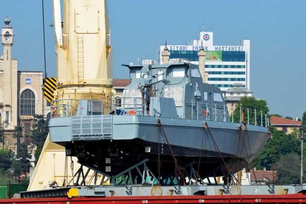 Виды ремонта судна - сторожевой катер P 2717
