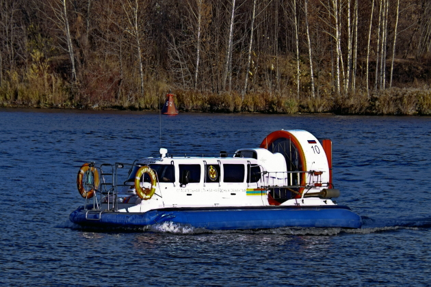 Приемка судна из ремонта - судно на воздушной подушке 10