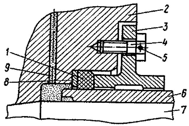 Уплотнение конуса гребного винта