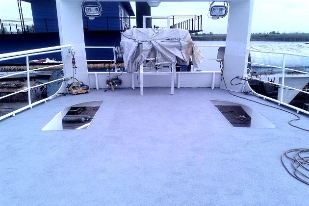 Покрытие палубы