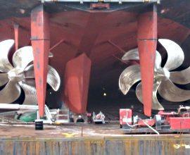 Рулевые устройства судна. Дефектация и ремонт