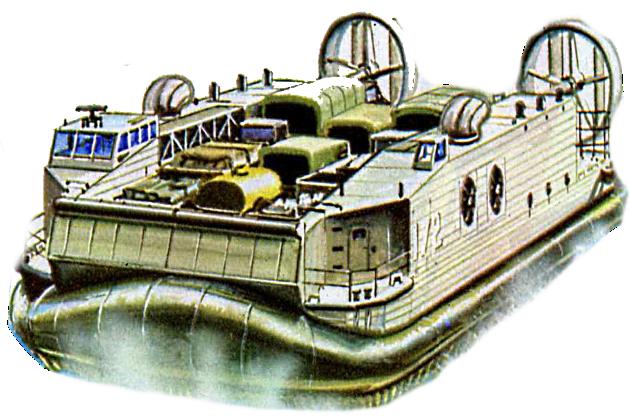 Судно на воздушной подушке JEFF(A)