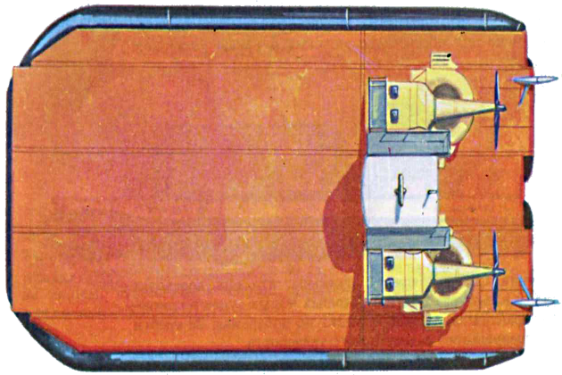 Судно на воздушной подушке Вояджер