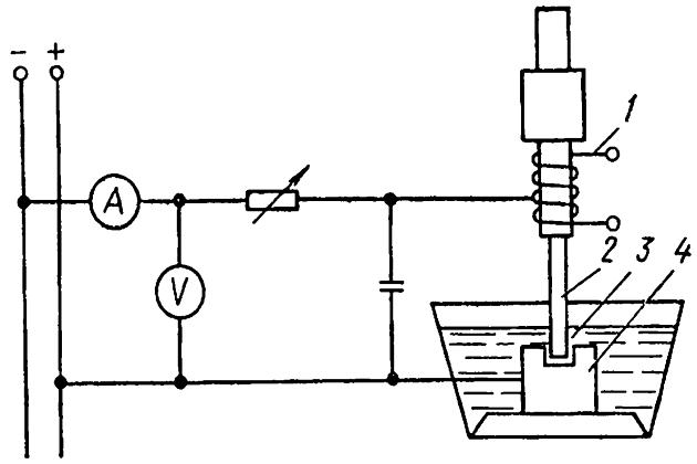 Электроискровая обработка металла
