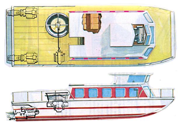 Судно на подводных крыльях - Эрбоут