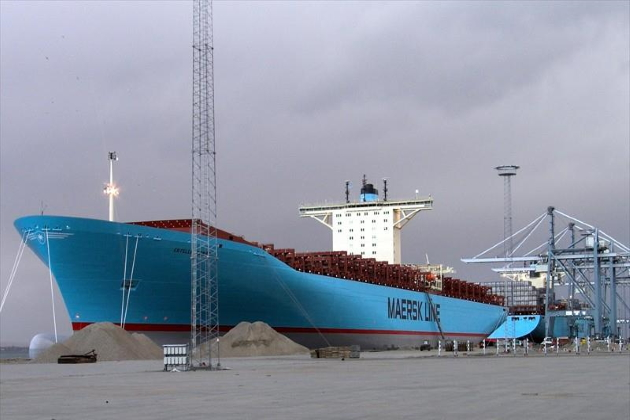 Контейнеровоз Estelle Maersk