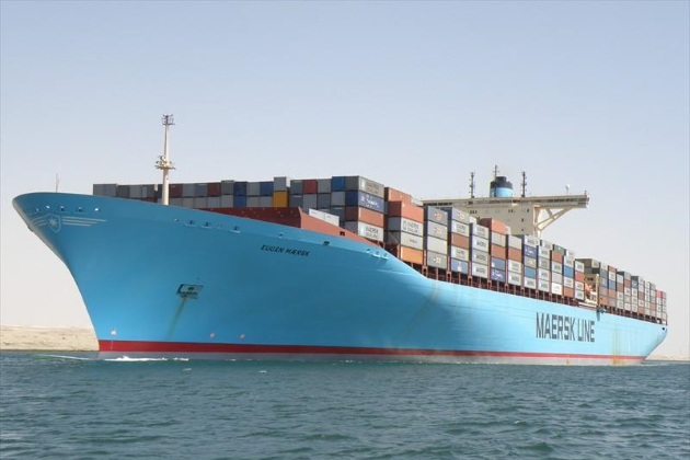 Контейнеровоз Eugen Maersk