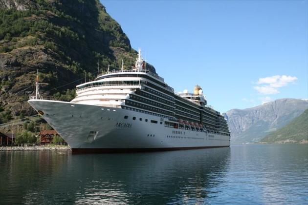 Пассажирское судно Arcadia