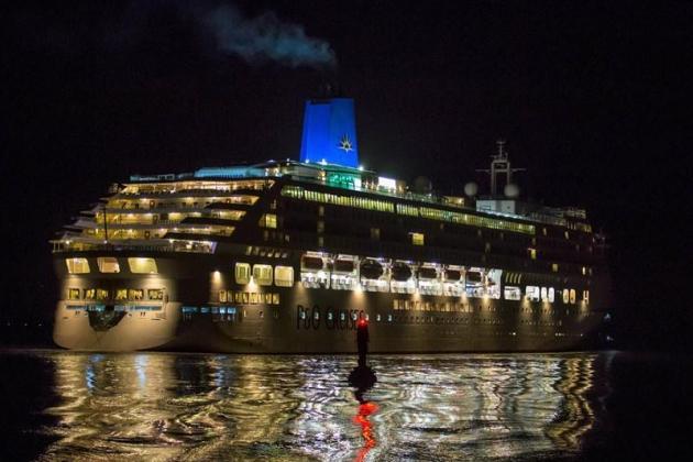 Пассажирское судно Aurora