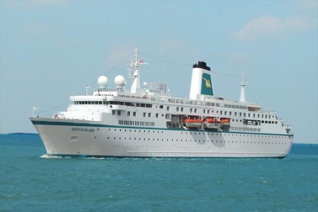 Пассажирское судно Deutschland