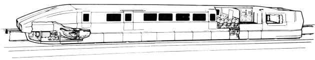 Поезда на магнитной подушке - Поезд М-60